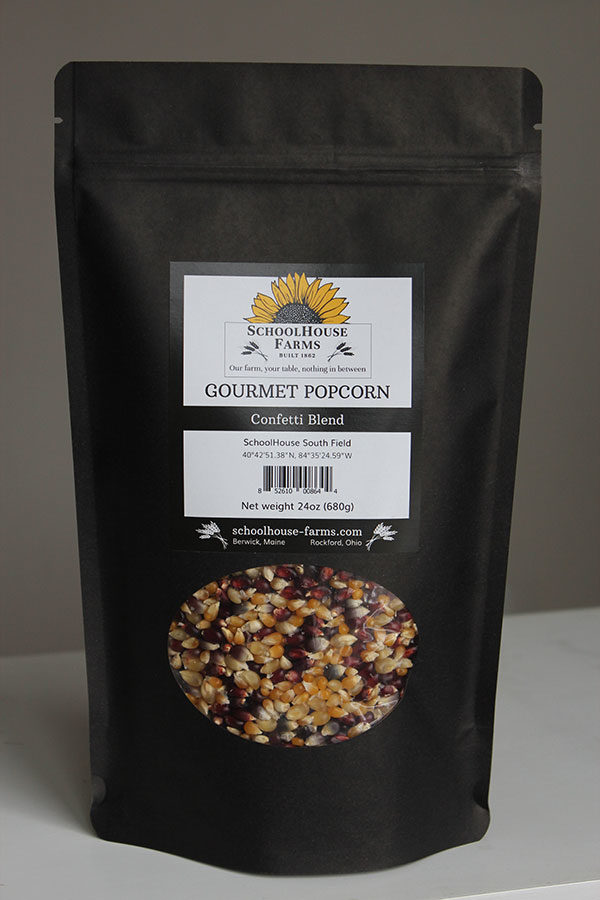 Confetti Blend Popcorn from Schoolhouse Farms