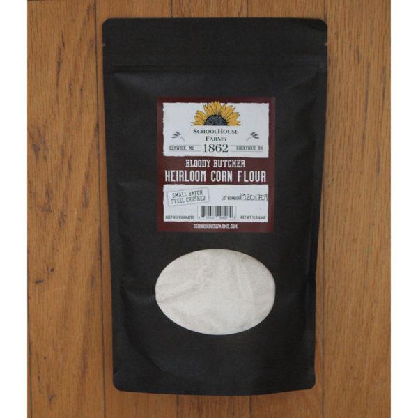 1862 Bloody Butcher Heirloom Corn Flour 1lb